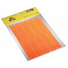 Polsbandjes tyvek orakel 13x23,5cm oranje