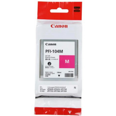 Canon inkjet IPF650/655 inkt PFI-104 MAG
