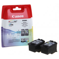 Canon pixma MP240/260 inkt PG510+CL511