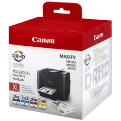 Canon MAXIFY MB5350/5050 inkt PGI-2500XL BK/C/M/Y