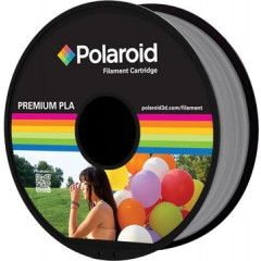 Filament Polaroid 3D Universal Premium PLA 1kg zilver