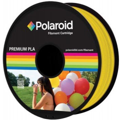 Filament Polaroid 3D Universal Premium PLA 1kg transparant geel