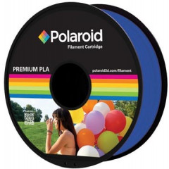 Filament Polaroid 3D Universal Premium PLA 1kg transparant lichtblauw
