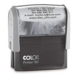 Stempel Colop Printer 50 + tekst