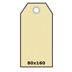 Hangkaartjes radium ft.80x160 225gr zeem (1000)