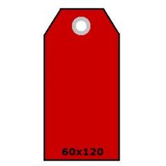 Hangkaartjes radium 60x120 225gr kers (1000)