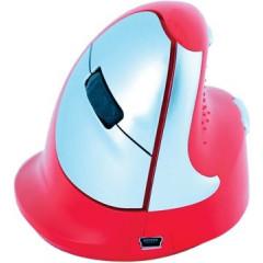 Draadloze ergonomische muis R-Go HE voor rechtshandigen rood