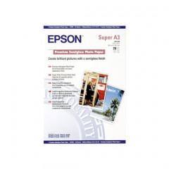 Fotopapier Epson Premium Inkjet semi gloss A3 maxi 250g (20)