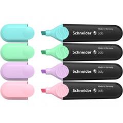Markeerstift Schneider Job 150 assorti pastel (4)