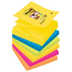 Z-Notes Post-it Rio 76x76mm assorti (6)