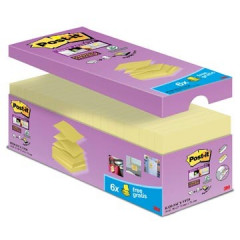 Z-Notes Post-it 76x76mm geel voordeelpak 14+6 gratis