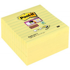 Z-Notes Post-it Super Sticky 101x101mm gelijnd geel