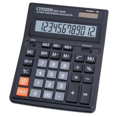 Bureaurekenmachine Citizen Desq SDC444S zwart