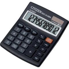 Rekenmachine Citizen SDC-812 zwart