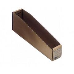 Magazijnbakje karton 300x60x115mm bruin (50)