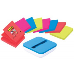 Z-Notes Post-it 76x76mm assorti (8) met dispenser