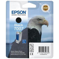 Cartridge Epson Inkjet T007 Stylus Photo 1270 540 pag. BK