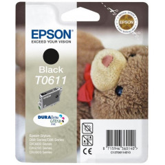 Cartridge Epson Inkjet T0611 Stylus D68 Photo Edition 250 pag. BK
