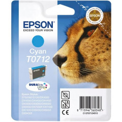 Cartridge Epson Inkjet T0712 Stylus D120 495 pag. CY