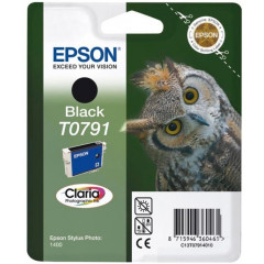 Cartridge Epson Inkjet T0791 Stylus Photo 1400 470 pag. BK