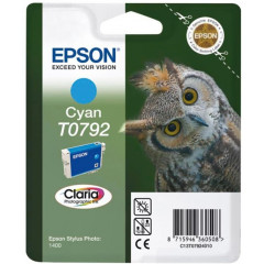 Cartridge Epson Inkjet T0792 Stylus Photo 1400 1.000 pag. CY