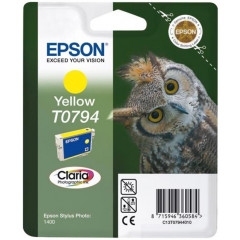 Cartridge Epson Inkjet T0794 Stylus Photo 1400 1.000 pag. YEL