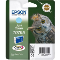 Cartridge Epson Inkjet T0795 Stylus Photo 1400 1.000 pag. LIGHT CY