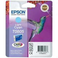 Cartridge Epson Inkjet T0805 Stylus Photo P50 350 pag. LIGHT CY