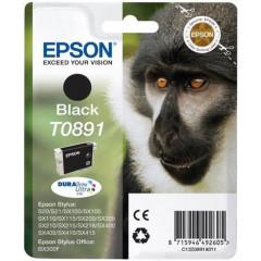 Cartridge Epson Inkjet T0891 Stylus S20 5,8ml BK