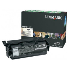 Toner Lexmark Mono Laser T654X11E T654dn 36.000 pag. BK