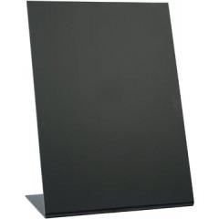 Securit tafelkrijtbord L-vorm, ft A5, zwart (3)