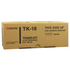 Toner Kyocera Mono Laser TK-18 FS-1018 7.200 pag. BK