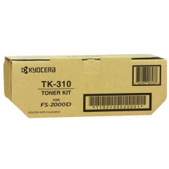 Toner Kyocera Mono Laser TK-310 FS-2000D 12.000 pag. BK