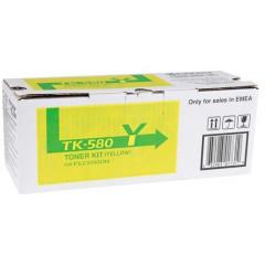 Kyocera col laser FS-C5150DN toner TK580 YE