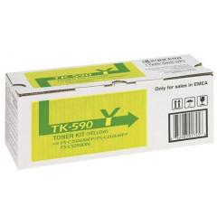 Kyocera col laser FS-C2026 toner TK590 YEL
