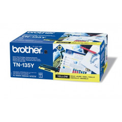 Toner Brother Color Laser TN-135 HL-4040CN 4.000 pag. YEL