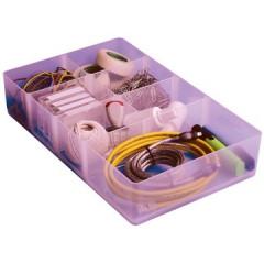 Onderverdeling Really Useful Box met 7 vakken voor opbergboxen van 9l