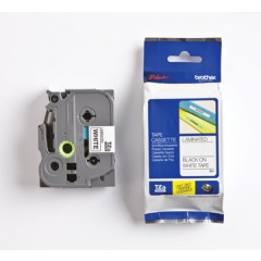 Tape Brother P-Touch TZE-261 36mm zwart op wit