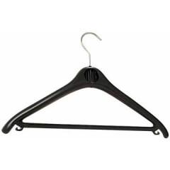 Kledinghanger Unilux plastic 45cm zwart (20)