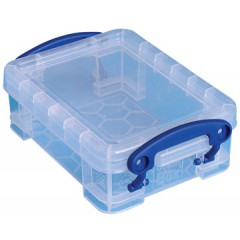Opbergdoos Really Useful Box 0,2l transparant