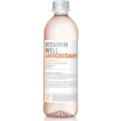 Vitaminewater Vitamin Well Peach fles 0,5l (12)
