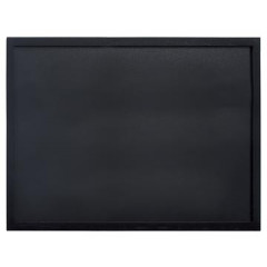 Securit krijtbord Woody, ft 60x80 cm, zwart