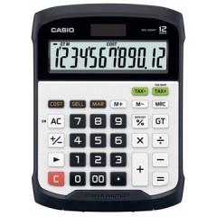 Bureaurekenmachine Casio WD-320MT waterdicht wit/zwart