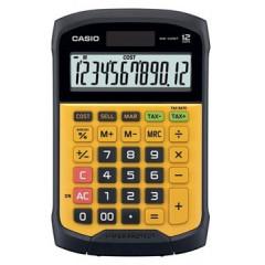 Bureaurekenmachine Casio WM-320MT waterdicht geel/zwart