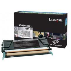Lexmark col laser X746 toner X746H1 BK