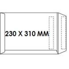 Zakomslag 230X310 wit zelfklevend Z/V (250)