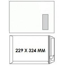 Zakomslag 229X324 wit + strip M/V rechts (250)